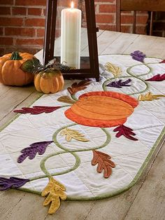 Harvest Table Runner Pattern - Quilting Digest