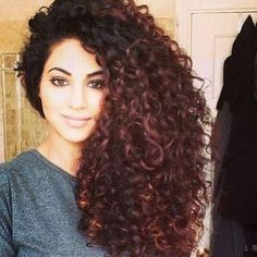 Gorgeous Natural Curly Hair from a Pakistan Beauty Annie!