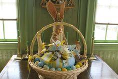 pinterest martha stewart beautiful easter baskets   Perfect Easter Basket-Martha Stewart.com   EASTER   Pinterest