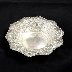 Excited to share the latest addition to my #etsy shop: Hand Made Sterling Vintage Antique American Bowl George W. Shiebler & Co 1890 #housewares #bowl #silver #anniversary #valentinesday #bedroom #antiquebowl #americansterling #shiebler