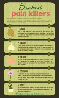 5 natural painkillers