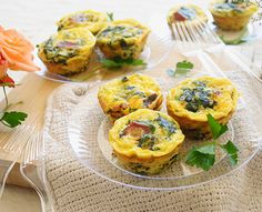 Planning an Easter brunch? Try these bite-sized Egg Muffins instead of a casserole for single-serve goodness.