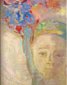 Odilon Redon. I love this piece. The colours and the serenity.