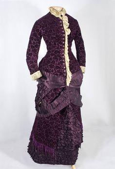 extant garment photos « In the Long Run  flocked velvet