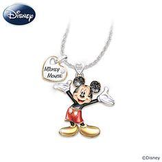 Disney Magic In Motion Pendant Necklace