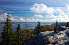 Koli, Finland. Love that white rock.