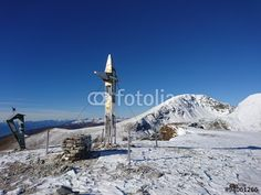 #Top Of #Predigerstuhl 2.160m In #Carinthia #Austria In #Fall @fotolia #fotolia #snow #hiking #mountains #outdoor #season #peak #summit #cross #blue #sky #morning #holidays #vacation #travel #sightseeing #wonderful #beautiful #stock #photo #portfolio #download #hires #royaltyfree
