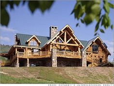 Ludlow Vermont. Beautiful log cabin home