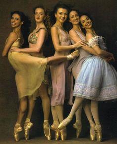 ABT principals Alessandra Ferri, Gillian Murphy, Irina Dvorovenko, Julie Kent  & Xiomara Reyes.