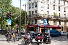 """RESTAURANT - Paris 10e - """"CHEZ PRUNE"""". Canal St Martin et rue idéale pour le shopping. Situé au 36, Rue Beaurepaire.  75010 Paris  01 42 41 30 47"""