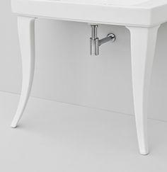 Jazz collection, design Meneghello Paolelli Associati. #TheArtceram  white finish ceramic legs x2