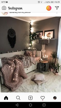 Currently day dreaming of this zen, chill spot from as we list some new towers and geode keychains into shop. ✨ We're… Currently day dreaming of this zen, chill spot from as we list some new towers and geode keychains into shop. Room Ideas Bedroom, Small Room Bedroom, Spare Room, Daybed Bedroom Ideas, Zen Bedroom Decor, Girls Daybed, Zen Home Decor, Bedroom Furniture, Daybed Room