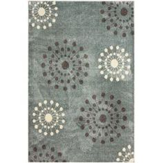 @Overstock - This area rug is crafted with easy-to-clean yarns that prevents shedding, unlike wool. This area rug features a variety of modern shades that will enhance your decorative scheme.http://www.overstock.com/Home-Garden/Luna-Gabi-Burst-Rug-8-x-10/6172571/product.html?CID=214117 $344.99