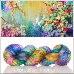 "162 Likes, 4 Comments - Expression Fiber Arts (@expressionfiberarts) on Instagram: ""•••New Botanical - 230 yards of alpaca silk dk yarn. Do I even need to say words here? I am AGHAST…"""