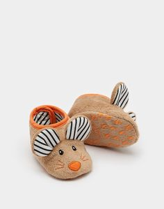Okay, so I totally squealed when I saw these and woke up my husband. I think he thought there was an actual mouse  • Squeaker Mouse Character Slippers | Joules UK