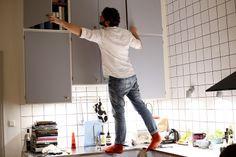 Färg på köksluckor