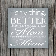 Grandmother Quote Canvas / Mother's Day Gift idea