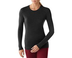 00076eba10a2 Smartwool Womens NTS Mid 250 Crew Charcoal Heather Medium -- Continue to  the product at