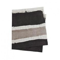 HP Stripe Black Grey Table Cloth - Bonnie and Neil