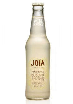 Joia All NaturalSoda packaging design by DesignReplace