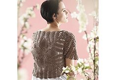 Ravelry: From the Middle Bolero pattern by Patons