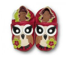 ekoTuptusie Różowa Sóweczka :) Soft Sole Shoes Pink Owl :) https://fiorino.eu/