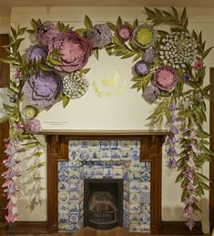 Liberty - Zoe Bradley Design: OVER THE FIREPLACE...NO, NO, NO....BUT THE LOVELINESS ... YES, YES, YES