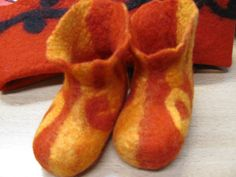 Baby-Filz-Schuhe Ursula Pauly