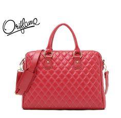 "Cheap handbag, Buy Quality handbag messenger directly from China bag women Suppliers:      2013 New Brand Power red 14"" Laptop bag Lady's leather bag handbag Free sh"