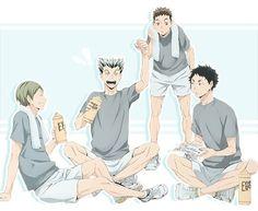 Fukurodani Academy! Bokuto / Akaashi / Akinori / Haruki