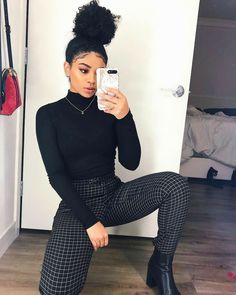 Bad And Boujee Outfits, Girls Fall Outfits, Casual Work Outfits, Cute Fall Outfits, Business Casual Outfits, Fall Fashion Outfits, Mode Outfits, Classy Outfits, Chic Outfits