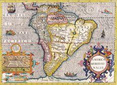 Henricus Hondius América 1630