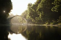 The Bridge at Rakotz, created by Bertrandb using 3ds Max and VRay.
