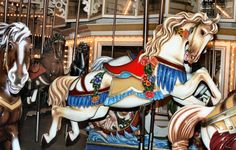 PTC #17 - originally operating at Chicago's Riverview Park and currently at Six Flags Over Georgia. This carousel will be celebrating it's 100th birthday this year - 2013.
