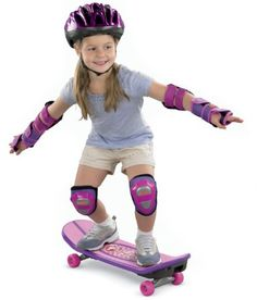 Birthday gift:Fisher Price Barbie Grow-with-Me Skateboard Barbie Games, Barbie Dolls, Skateboard Price, Skateboards For Sale, Safety Helmet, Longboarding, Extreme Sports, Child Safety, Business For Kids