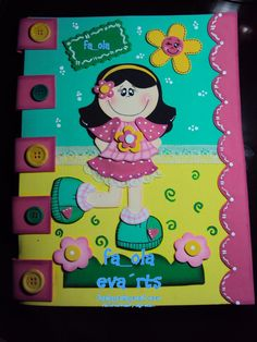 FOLDER O CARPETA DECORADA