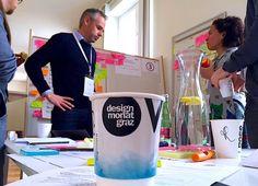 Design Thinking: Wie entsteht eigentlich radikal Neues? Public Relations, Design Thinking, Paper Shopping Bag, Company Logo, Tech Companies, Logos, Graz, Communication, Logo