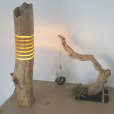 Drift wood lamp diy