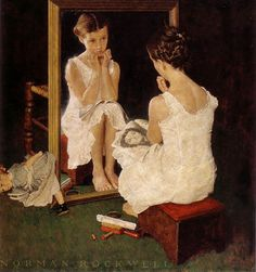 norman rockwell   Who occupies the paintings of Norman Rockwell? What characteristics ...