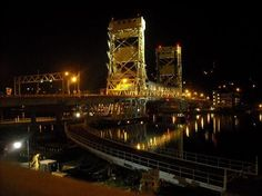 Houghton, Michigan Lift Bridge