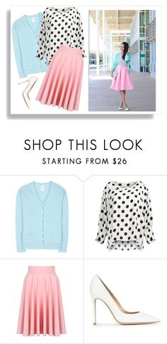 """""""Summer Pastels"""" by polyvorequeen2754 on Polyvore featuring Jardin des Orangers and Gianvito Rossi"""