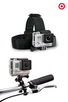 Give your outdoor adventurer or extreme sports enthusiast a way to experience life's biggest adventures again and again. The GoPro HERO3+ Silver Edition is smaller, lighter and more powerful than before. Wear it or mount it to capture professional-quality action shots.