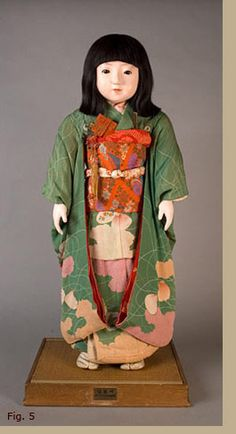 Antique Japanese Dolls - Early Japanese Play Dolls