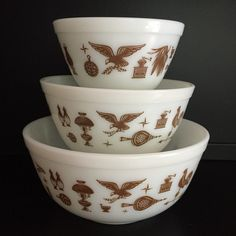 Early American Bowls Pyrex