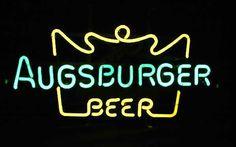 Ausburger Beer Logo Classic Neon Light Sign 22x12