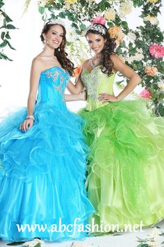 Da Vinci Quinceanera Dresses Style 80254 Colors: Apple, Turquoise http://www.abcfashion.net/da-vinci-quinceanera-dresses-80254.html  Call us at 972-264-9100