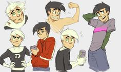 skellagirl : We've been watching Danny Phantom a lot lately. Here's some slightly older buddies!!