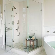 As light as a cloud, this bathroom is pure dreaminess.