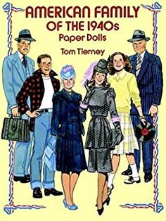 American Family of the 1940s Paper Dolls (Dover Paper Dolls)