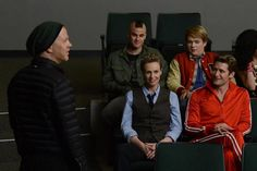 """Behind the scenes photo from the """"Props"""" episode. Original Air Date 5/15/2012"""